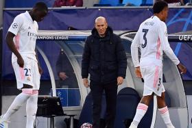 Zinedine Zidane, Luka Modric bemoan Real Madrid's lack of confidence