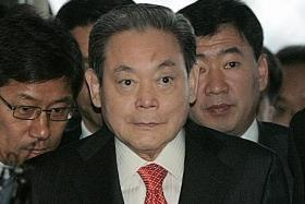 Samsung chairman Lee Kun-hee dies at 78 after long illness