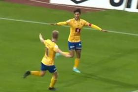 Ikhsan Fandi closing in on goal target with double in 4-2 win