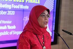 Halimah at No. 37 among world's 500 most influential Muslims