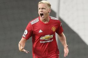 Man United manager Solskjaer: Donny van de Beek has a big part to play