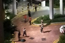 12 arrested for rioting in Canberra Street