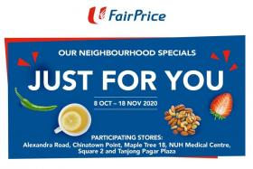 Collect stamps and win vouchers at FairPrice stores