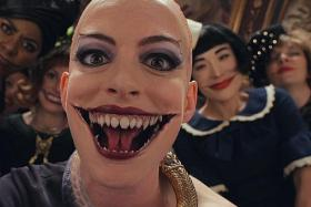 Anne Hathaway's makeover in The Witches set her screaming