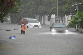 Flash floods at three locations after heavy rain
