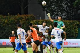 Draw with Hougang United hampers Lion City Sailors' title tilt