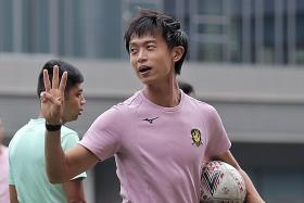 Tampines Rovers coach Gavin Lee shrugs off favourites' tag