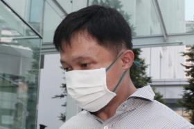 Karl Liew is accused of telling Assistant Superintendent Tang Ru Long in 2016 that he had found 119 pieces of clothing belonging to him inside boxes packed by his family's former domestic helper, Ms Parti Liyani.