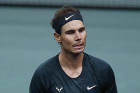 Rafael Nadal upbeat despite Pairs Masters semi-final exit
