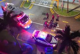 Man arrested for alleged sickle attack on enforcement officer