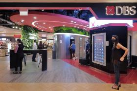 DBS to feature 24/7, self-service banking in a third of its branches