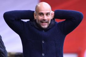 Pep Guardiola has guided Manchester City to two English Premier League titles, three League Cups and an FA Cup since his arrival in 2016.