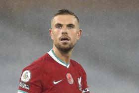 Jordan Henderson is Liverpool's latest injury worry