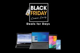 You stand to get great free items as part of Gain City's Black Friday Deals For Days sale, where electronics items are up for grabs.