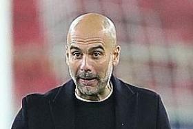 Maradona made football better, says Guardiola as City reach last 16