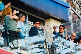Richard Buxton: In the presence of Diego Maradona's greatness