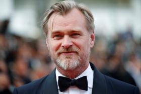 Director Christopher Nolan poses at the 71st Cannes Film Festival, Cannes, France, May 13, 2018