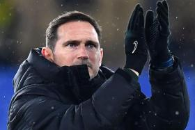 Chelsea manager Frank Lampard (above) has high praise for his former boss Carlo Ancelotti, whose Everton side host the Blues in the English Premier League on Saturday.