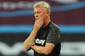 West Ham United manager David Moyes (above) says forward Michail Antonio is still a doubt for Friday's game against Leeds United due to a hamstring injury.