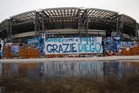 Napoli's San Paolo Stadium has been renamed to Diego Armando Maradona Stadium in memory of the late Argentinian who led the club to two Italian league titles.