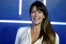 """Patty Jenkins attends the European Premiere of """"Ready Player One"""" in London, Britain, March 19, 2018."""