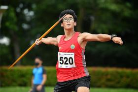 Javelin thrower Roy Ng, 17, sets second record in two weeks