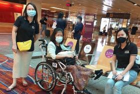 Survivor of Lucky Plaza accident finally returns home