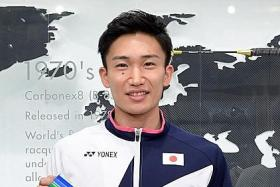 Japan withdraw from Thailand Open after Momota contracts Covid-19