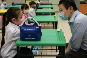 Precautions very necessary in schools: Lawrence Wong