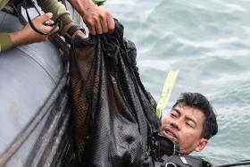 Divers find wreckage of crashed plane