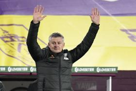 Ole Gunnar Solskjaer's men are three points ahead of Liverpool at the top of the table.