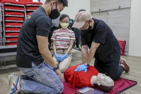 New female manikin vests to help train people to perform CPR on women
