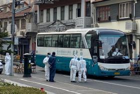 Shanghai neighbourhood evacuated after three virus cases found