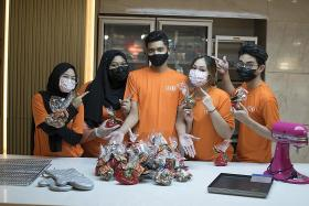 ITE grad hopes to bake cookies for needy families this CNY