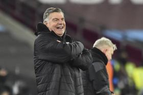 West Brom held Liverpool to a 1-1 draw and defeated Wolves 3-2 since Sam Allardyce (above) took over, but they are still six points from safety.