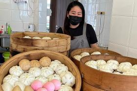 She focuses on bun business to honour late husband's memory