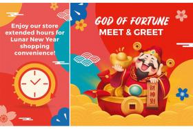 FairPrice to extend hours at 129 stores on first day of CNY