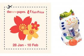 Redeem FairPrice CNY figurine and stand to win $1,088