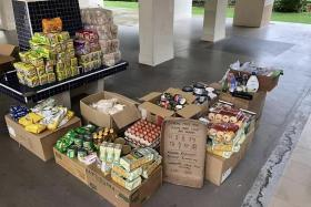 Small family project Unmanned Free Food Pantry gets bigger, better