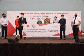 EagleCares Badminton Programme