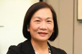 OCBC Bank chief executive Helen Wong (above), ExxonMobil Asia-Pacific chairman and managing director Ms Geraldine Chin and Shiseido Asia-Pacific president and CEO Nicole Tan.