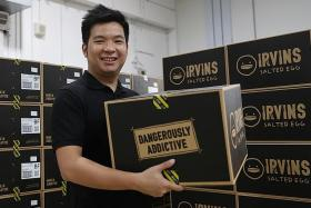 Irvins techs salted egg goodies to the US after growing Web presence