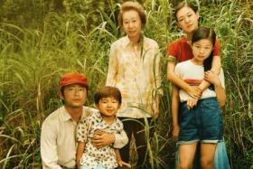 The cast of Minari