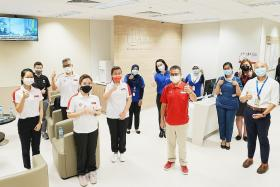Singapore's shooters get their Covid-19 shots