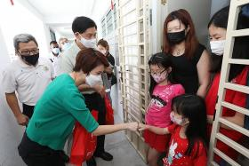 500 rental flat households receive donated face masks, rice and more