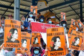 Myanmar should cease lethal force, free Aung San Suu Kyi: Vivian