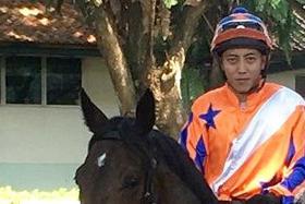 Jockey Ng Choon Kiat will be out of action until Jan 12 next year.
