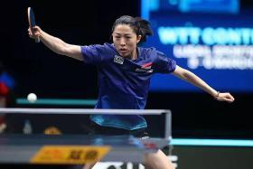 Paddler Yu Mengyu stuns world No. 11 Miu Hirano in Doha