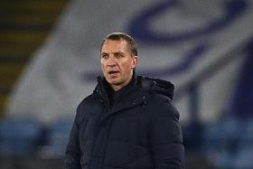 Leicester manager Rodgers hails goalie's heroics in draw with Burnley