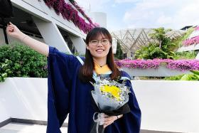 After a PSLE score of 143, Miss Tan's journey had a happy ending